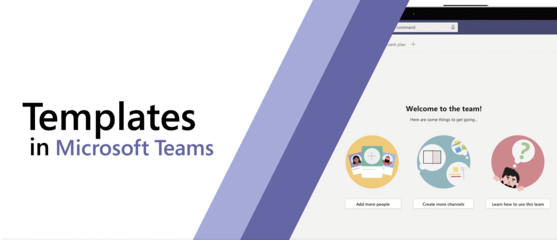 Microsoft Announce Templates in Teams